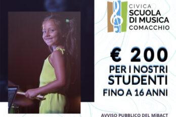 € 200 per i nostri studenti fino a 16 anni